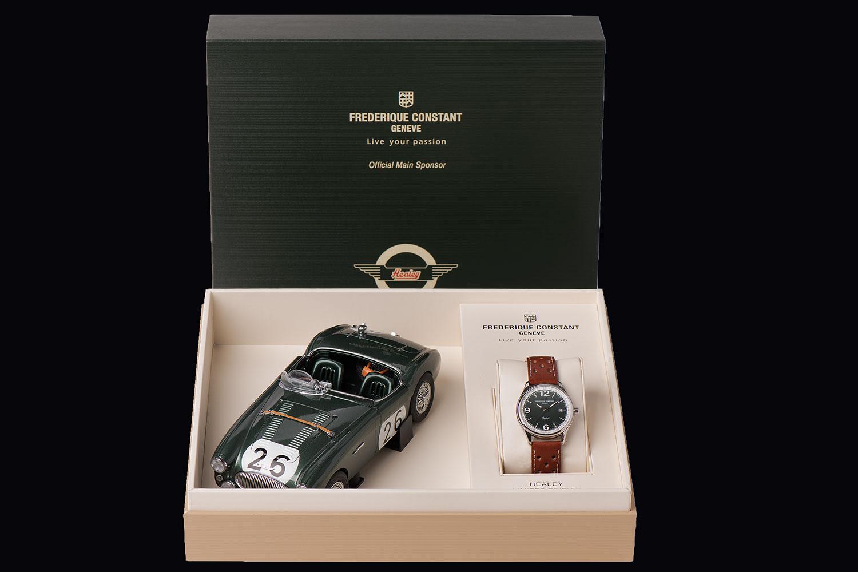 Caja del Frederique Constant Vintage Rally Healey Automatic