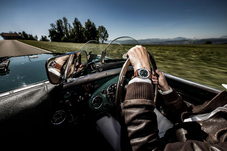 El Frederique Constant Vintage Rally Healey Automatic, puesto