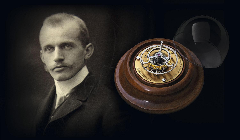 Alfred Helwig y su Tourbillon volante