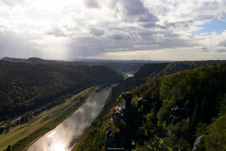 El río Elba en Bastei