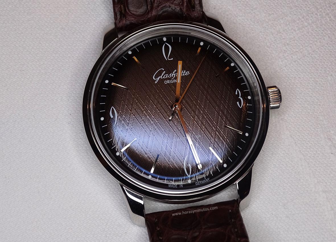 Glashütte original Sixties Iconic Brown 1