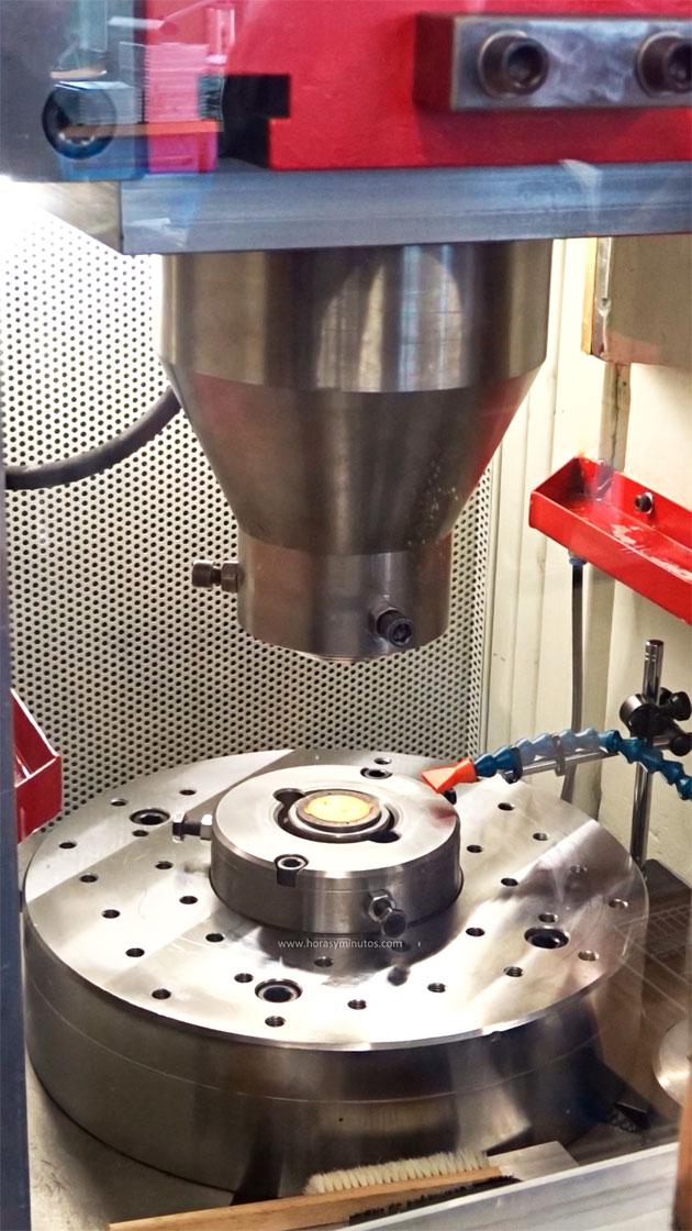 Glashütte original Sixties Iconic máquina de estampación