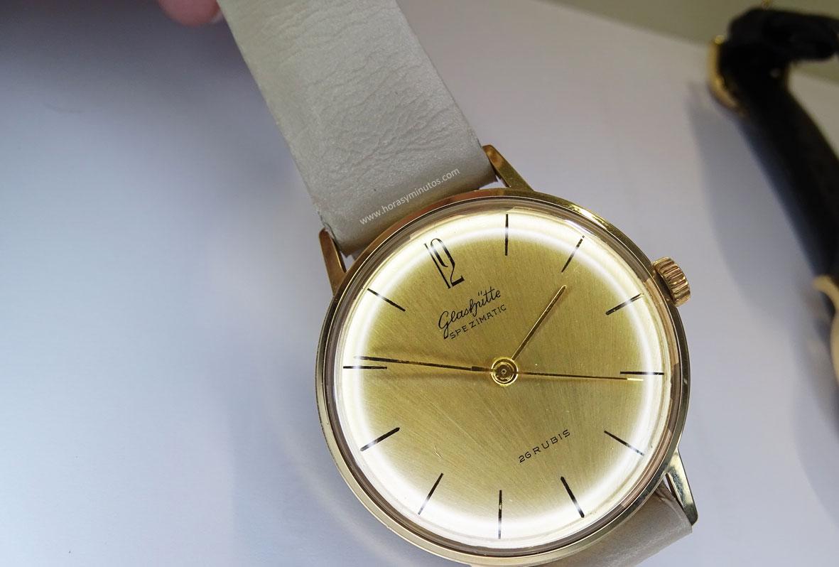 Un Spezimatic de la GUB, muy parecido al reloj del propio Yann Gamard