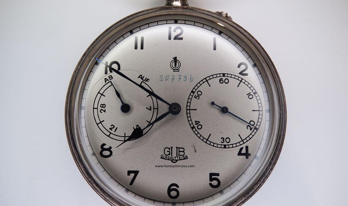 Glashutte Original reloj de observador - esfera