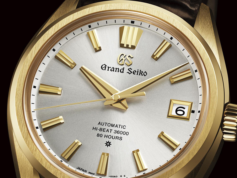 Esfera del Grand Seiko 60 aniversario SLGH002