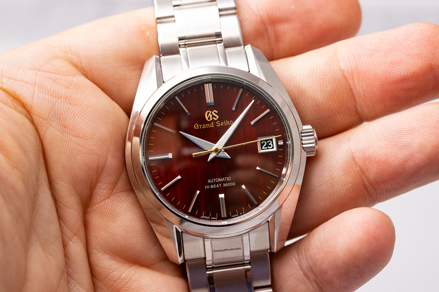 "Grand Seiko Heritage ""Autumn"" Hi-Beat Limited Edition"
