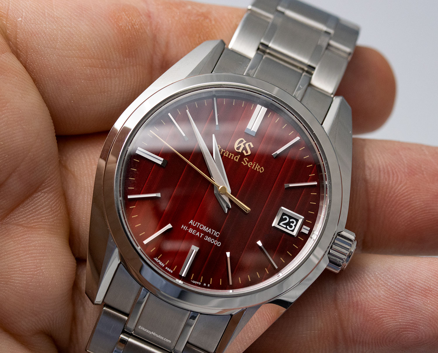 "Esfera del Grand Seiko Heritage ""Autumn"" Hi-Beat Limited Edition"