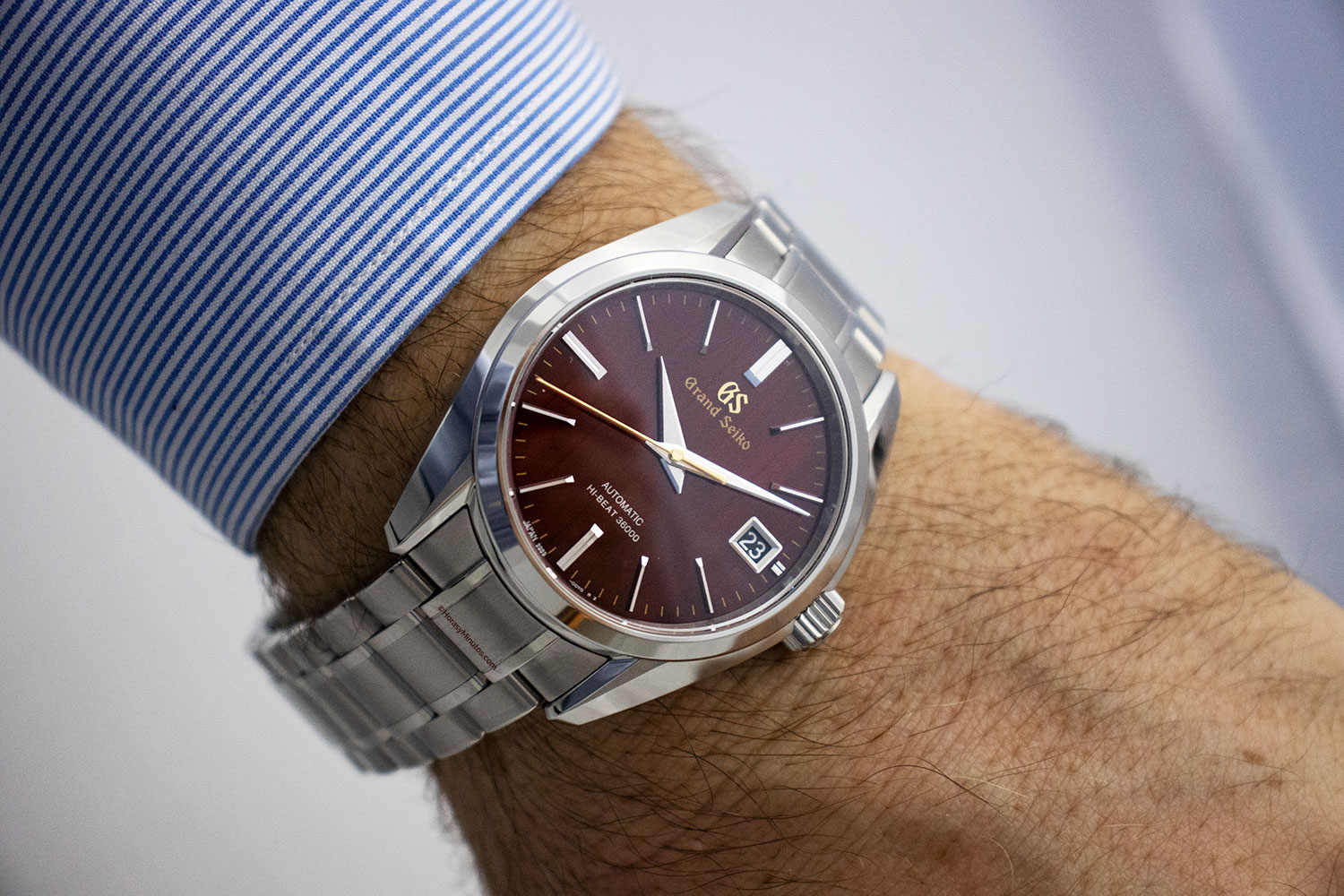 "Así queda el Grand Seiko Heritage ""Autumn"" Hi-Beat Limited Edition"