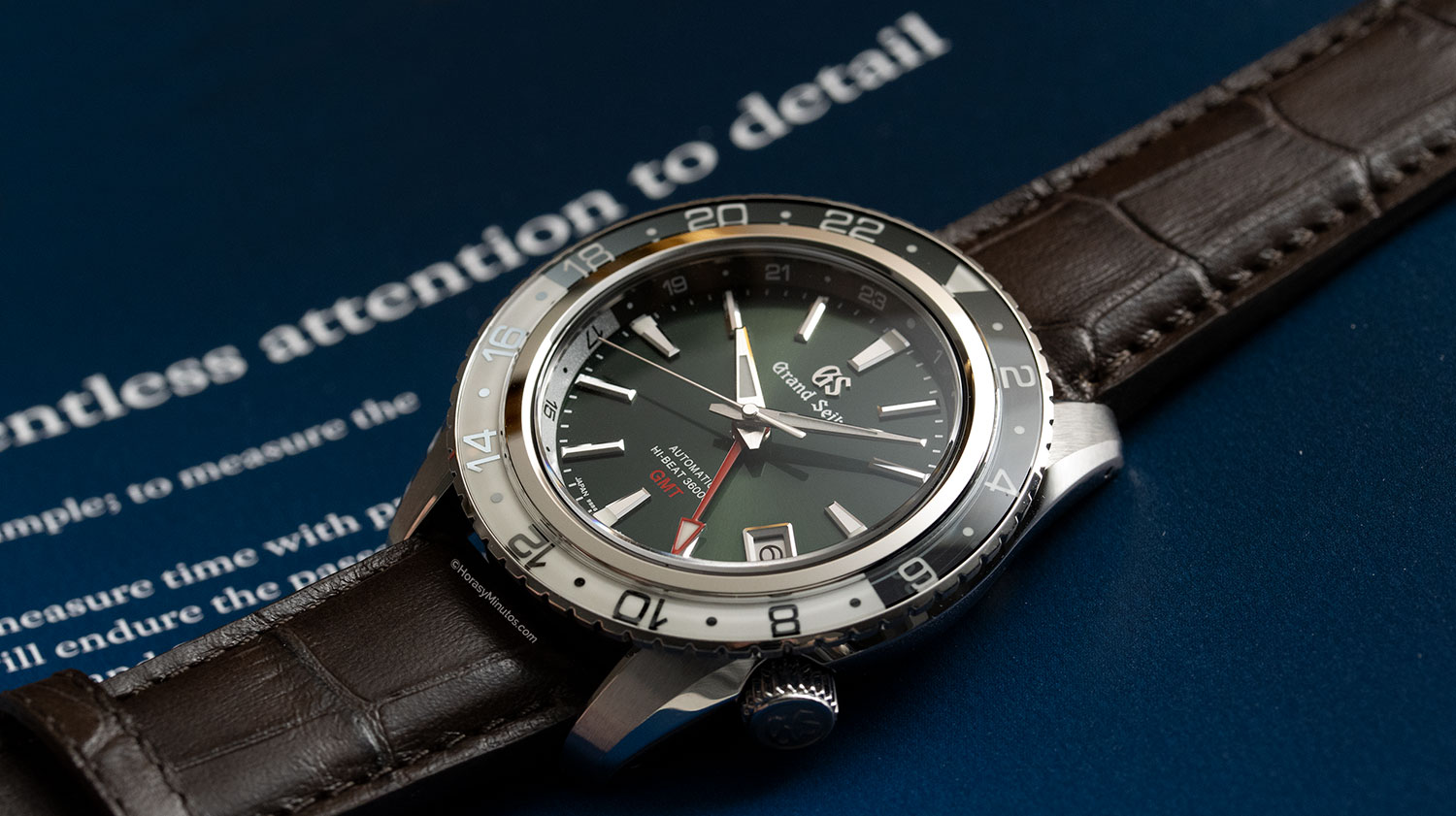 Grand Seiko Hi-Beat GMT SBGJ239G