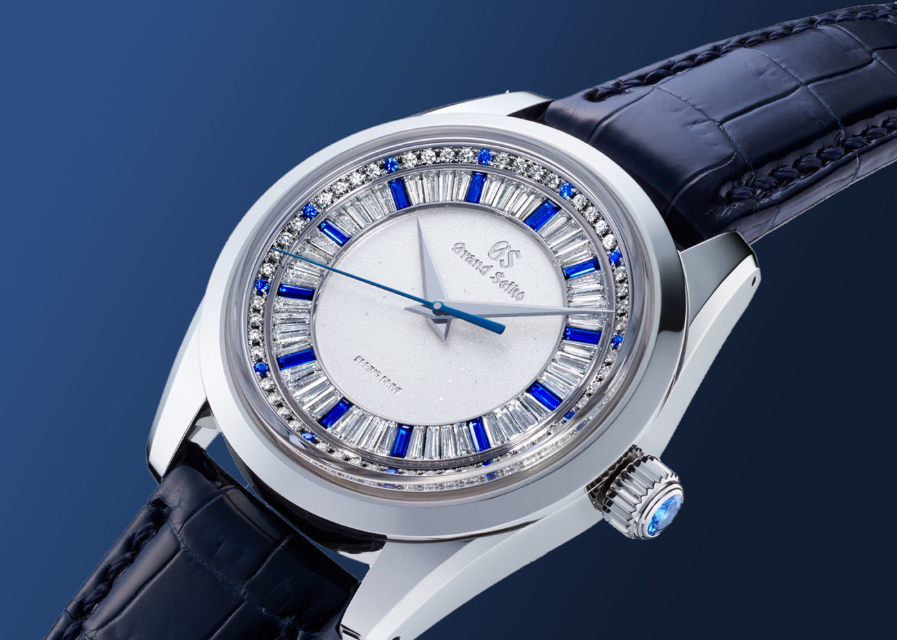 Grand Seiko Masterpiece Collection Spring Drive 8 Days Jewelry Watch SBGD205