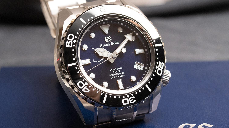 Grand Seiko Spring Drive Diver 60 Aniversario SLGA001