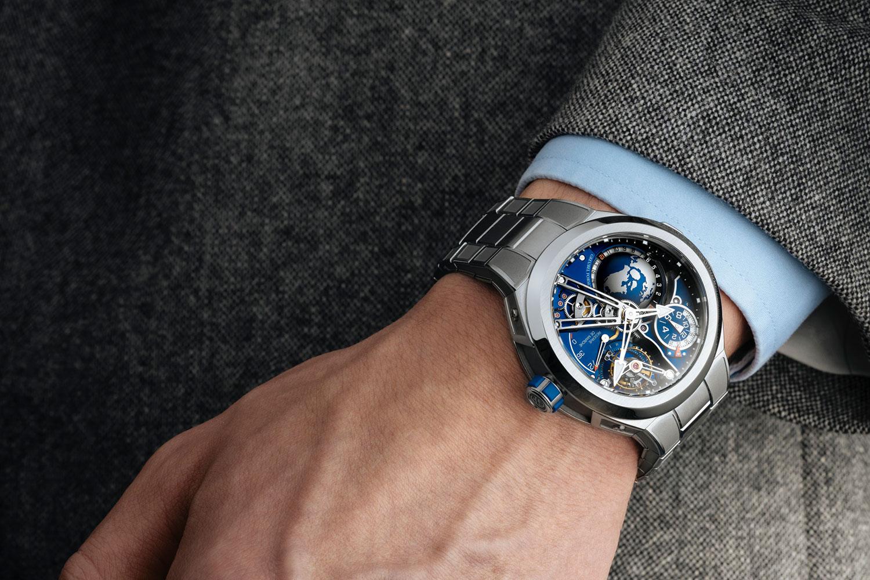 El Greubel Forsey GMT Sport con brazalete