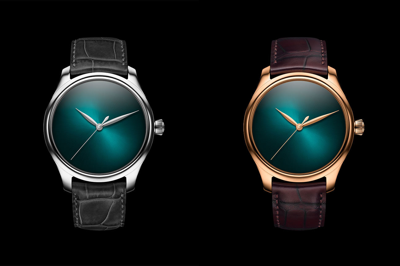 H. Moser & Cie Endeavour Centre Seconds Concept Blue Lagoon