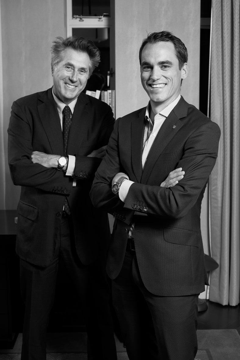 H.moser Bryan Ferry y Eduard Meylan