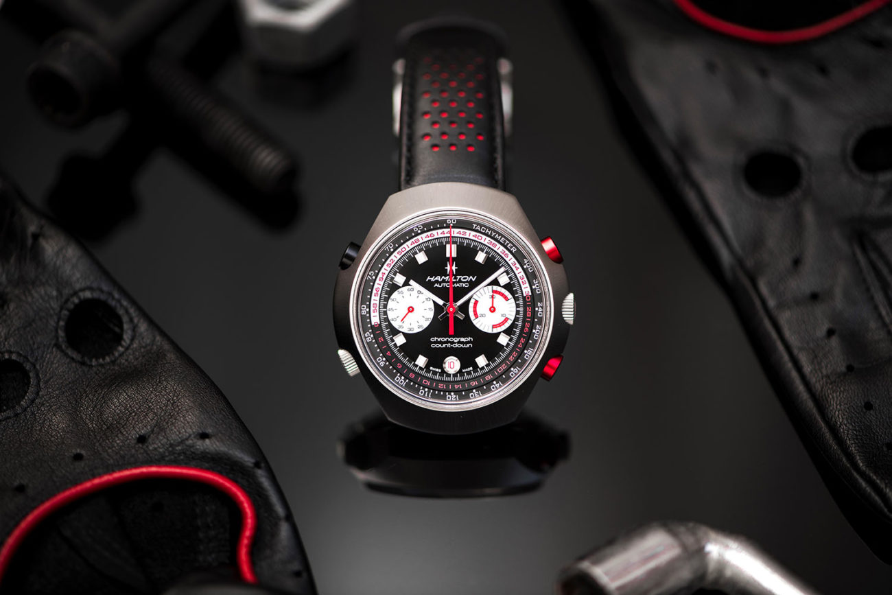 Frontal del Hamilton Chrono-Matic 50