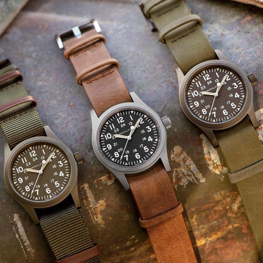 10 relojes mecánicos por menos de 1000 euros. Hamilton Khaki Field Mechanical 38 mm