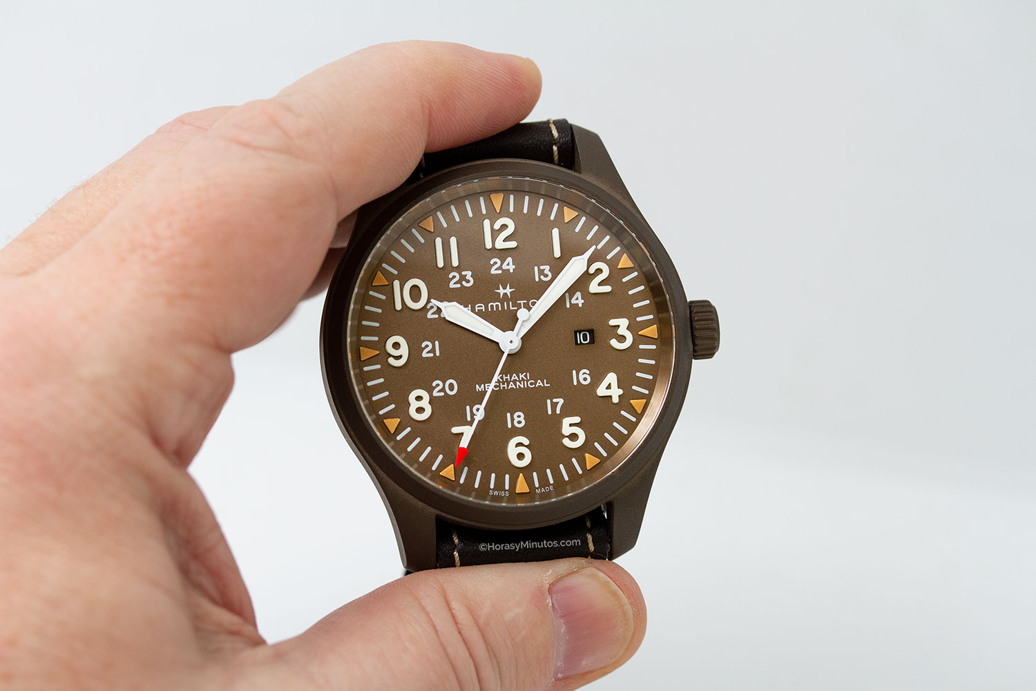 Hamilton Khaki Field Mechanical 50 mm Limited Edtion