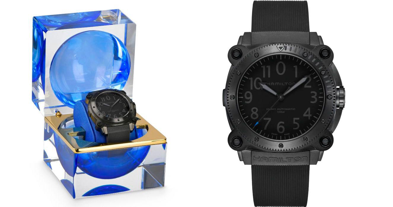 El Hamilton Khaki Navy BeLOWZERO Tenet Limited Edition azul