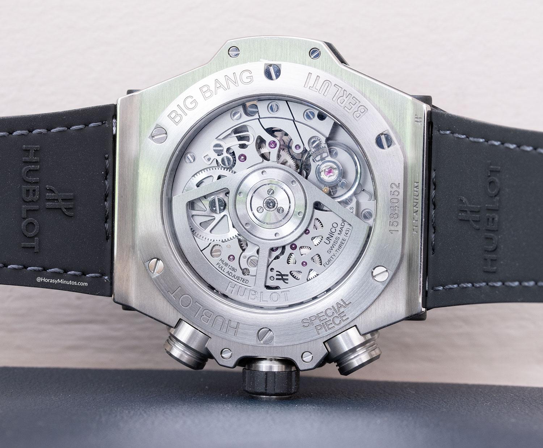 Calibre HUB 1880 del Hublot Big Bang Unico Berluti Aluminio