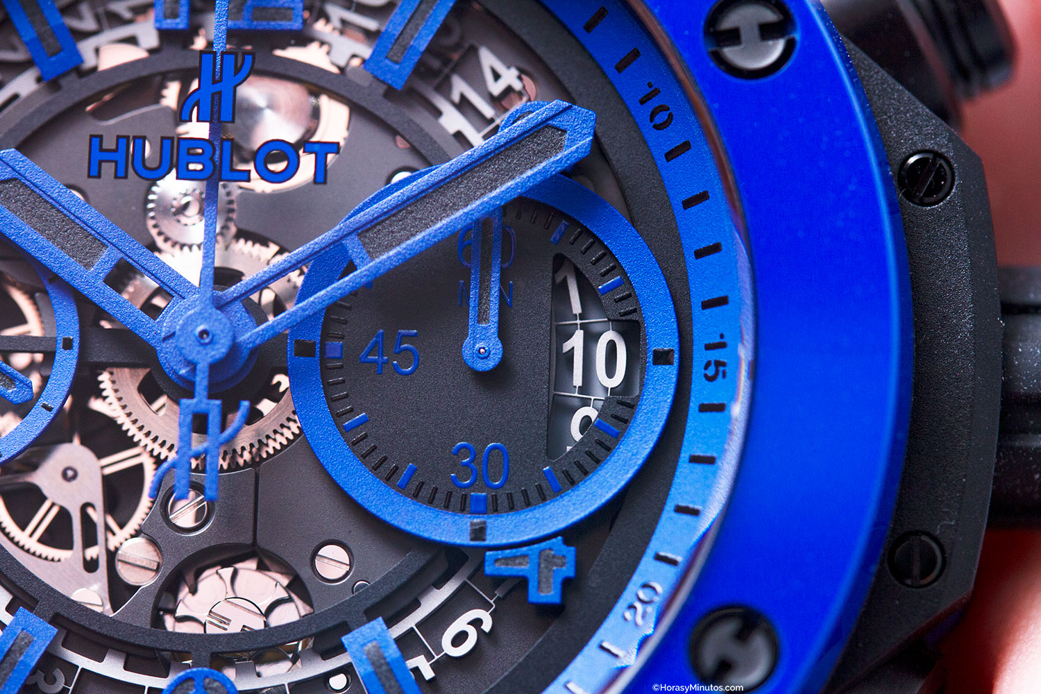 Hublot Big Bang Unico Blue Magic