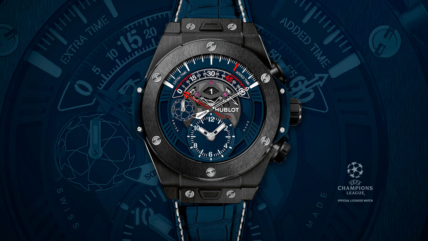 Big Bang Unico Retrograde Chronograph UEFA Champions League