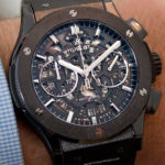 Hublot Classic Fusion 45 Aerofusion Black Magic: fotos en vivo y precio