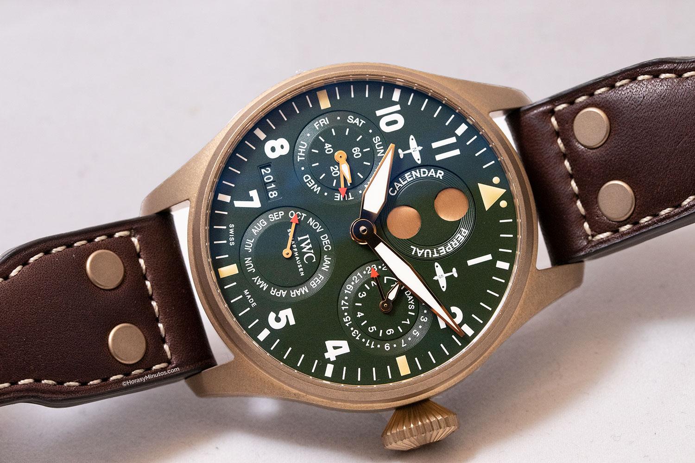 IWC Big Pilot's Watch Perpetual Calendar Spitfire