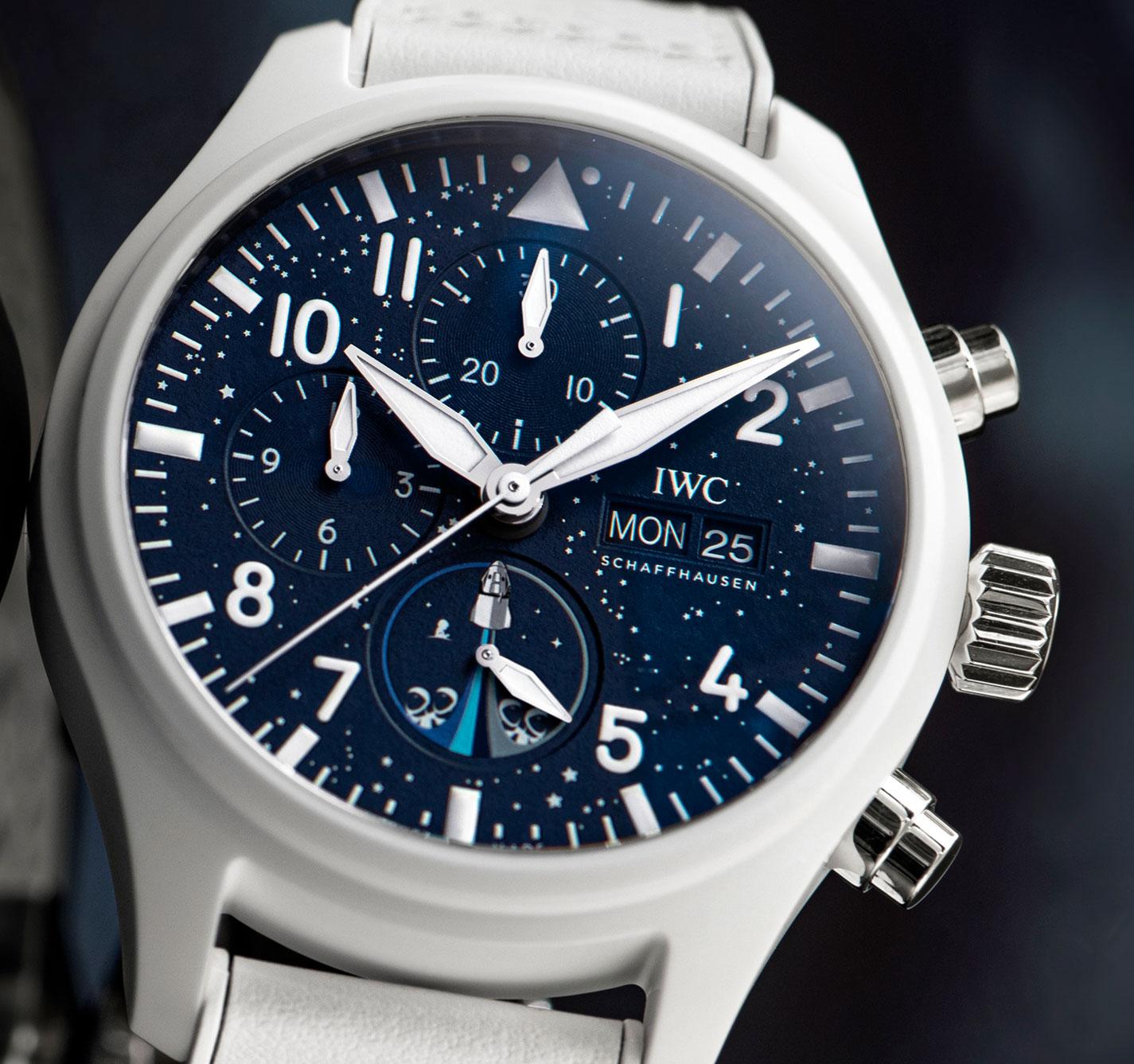 Esfera del IWC Inspiration4 Chronograph