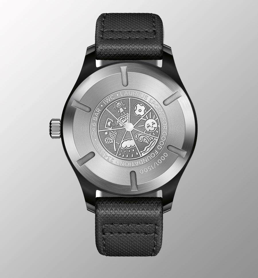 "IWC Pilot's Watch Mark XVIII Edition ""Laureus Sport for Good Foundation"""
