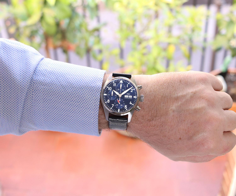 Así queda el IWC Pilot's Watch Chronograph 41 mm