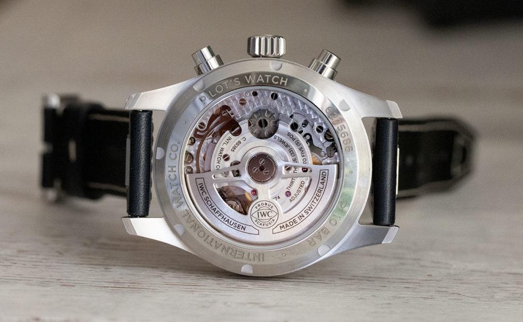 Calibre 69385 del IWC Pilot's Watch Chronograph 41 mm