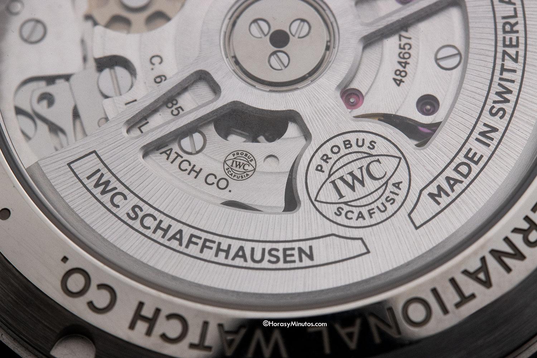 Rotor del Calibre 69385 del IWC Pilot's Watch Chronograph 41 mm