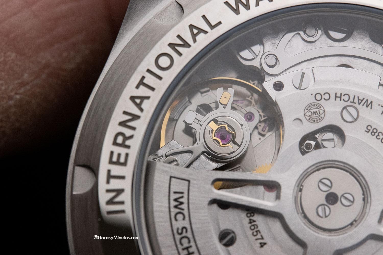 Volante del Calibre 69385 del IWC Pilot's Watch Chronograph 41 mm