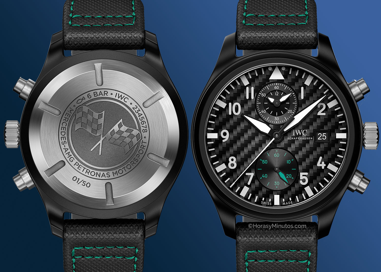 "IWC Pilot's Watch Chronograph Edition ""Mercedes- AMG Petronas Motorsport"
