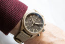 "El IWC Pilot's Watch Chronograph TOP GUN Edition ""Mojave Desert"", puesto"