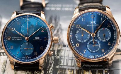 Los dos IWC Portugieser Boutique Edition