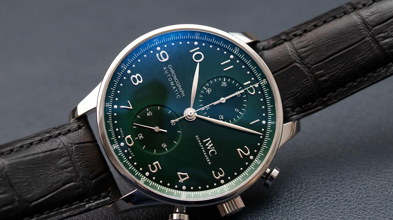 IWC Portugieser Chronograph verde