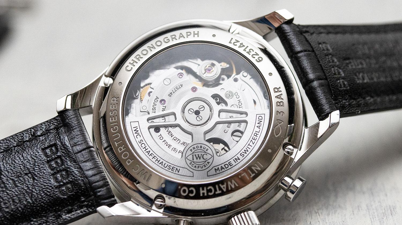 Calibre 69335 del IWC Portugieser Chronograph