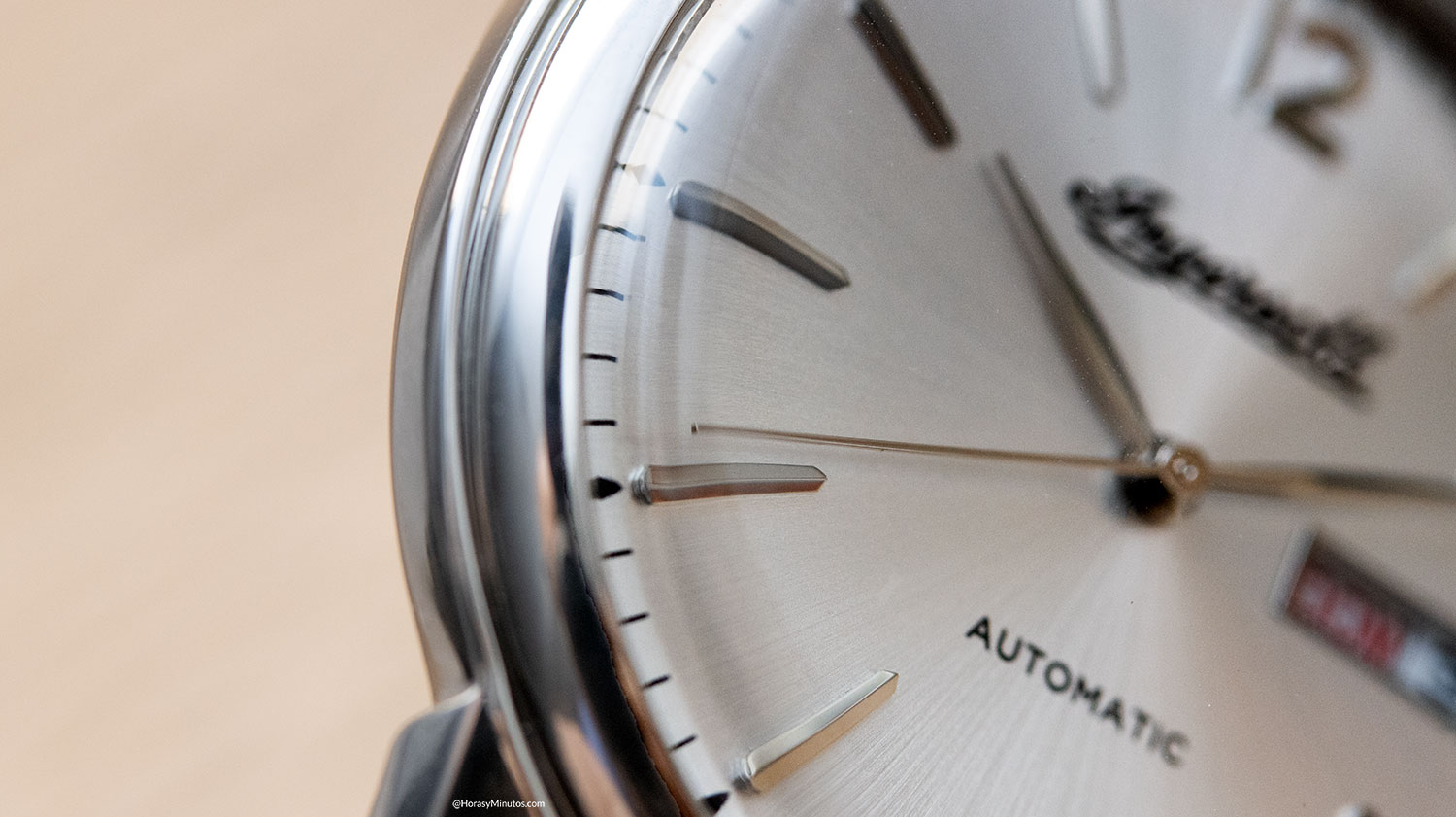 Detalle del Ingersoll New Haven Automatic