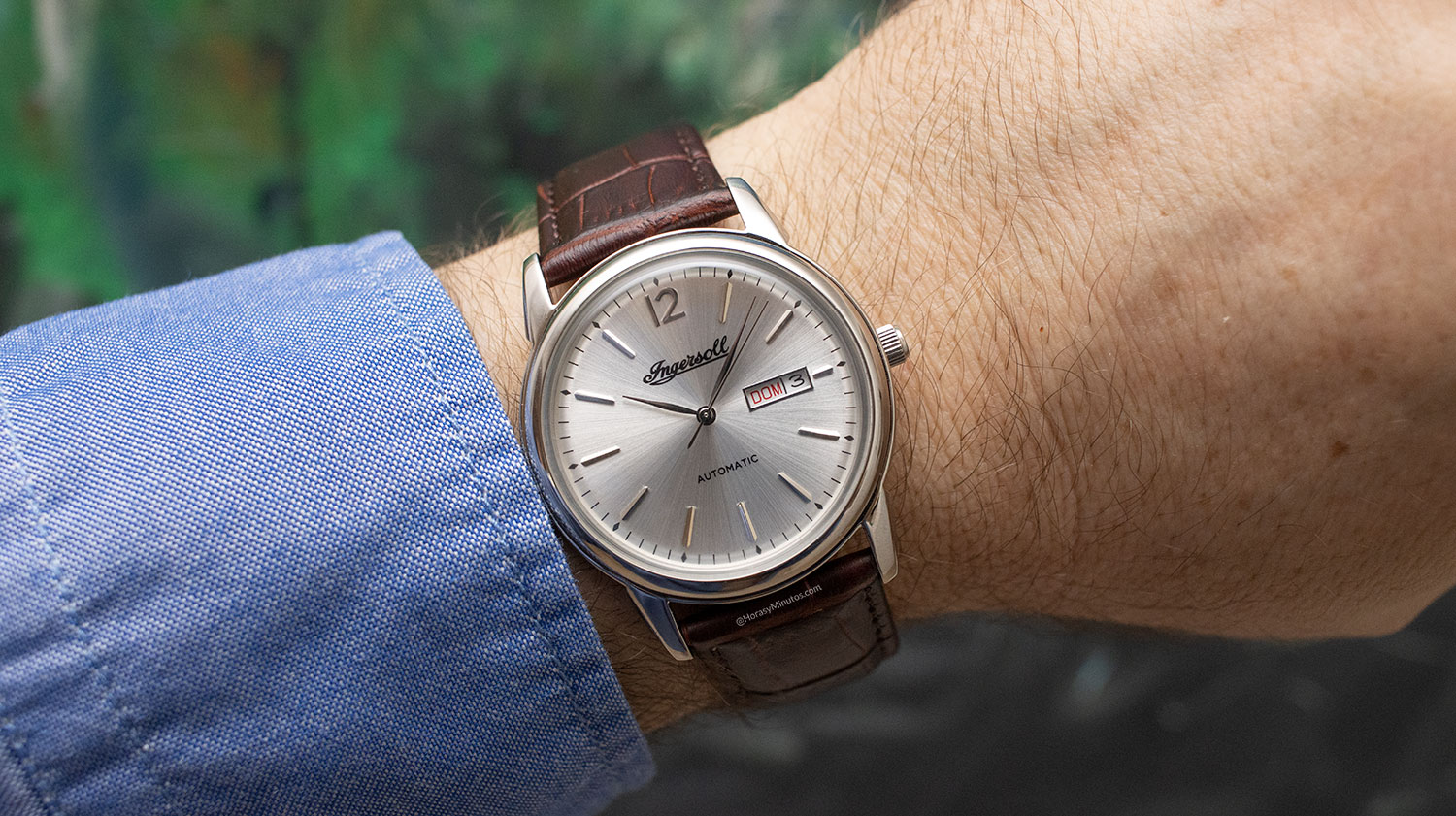 El Ingersoll New Haven Automatic, en la muñeca