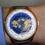 En la muñeca: Geophysic Universal Time de Jaeger-LeCoultre