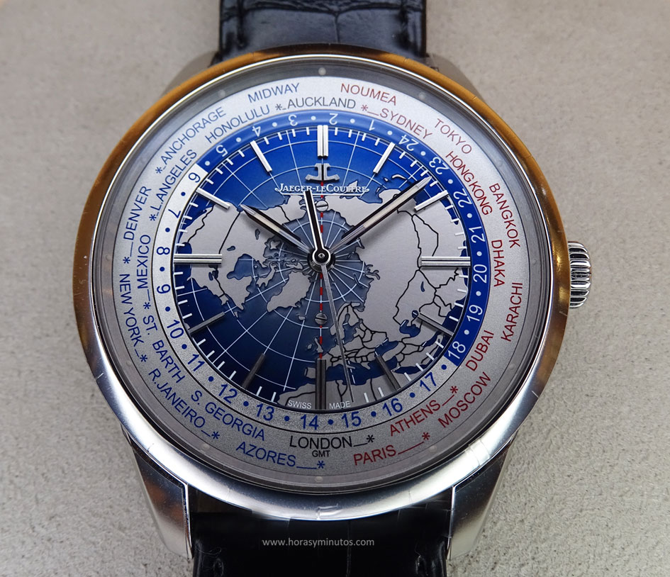Jaeger-LeCoultre Geophysic Universal Time acero frontal