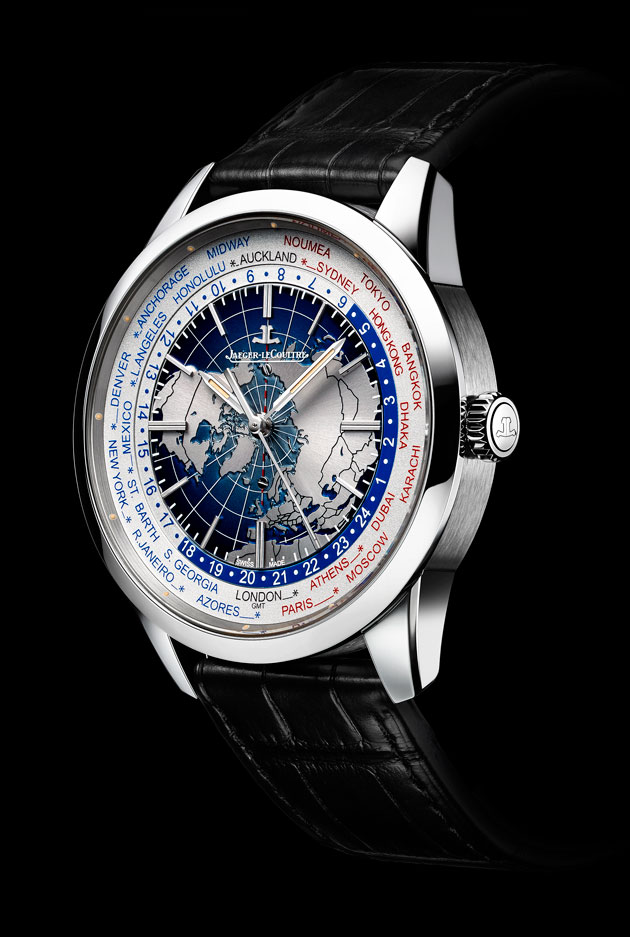 Jaeger-LeCoultre Geophysic Universal Time acero perfil