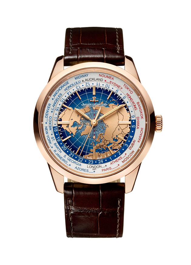 Jaeger-LeCoultre Geophysic Universal Time oro rosa