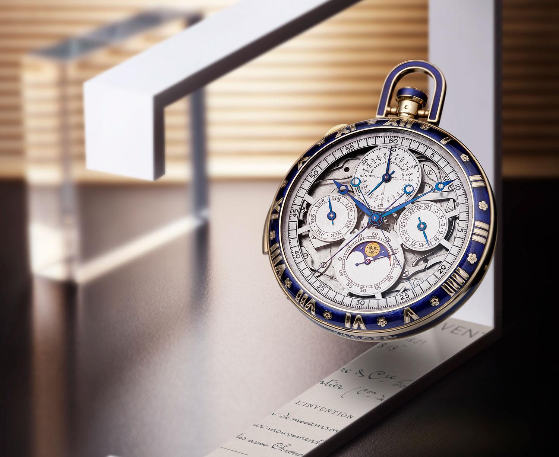 reloj de bolsillo Gran Complicación de la manufactura de Jaeger-LeCoultre