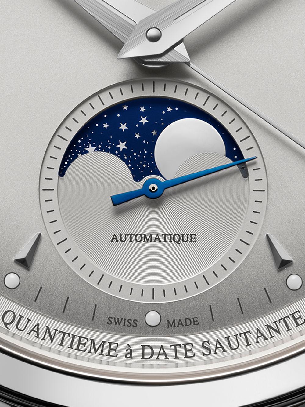 Fase lunar del Jaeger-LeCoultre Master Control Calendar