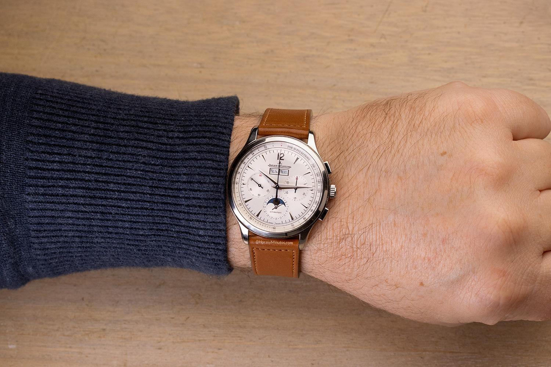 El Jaeger-LeCoultre Master Control Chronograph Calendar, puesto