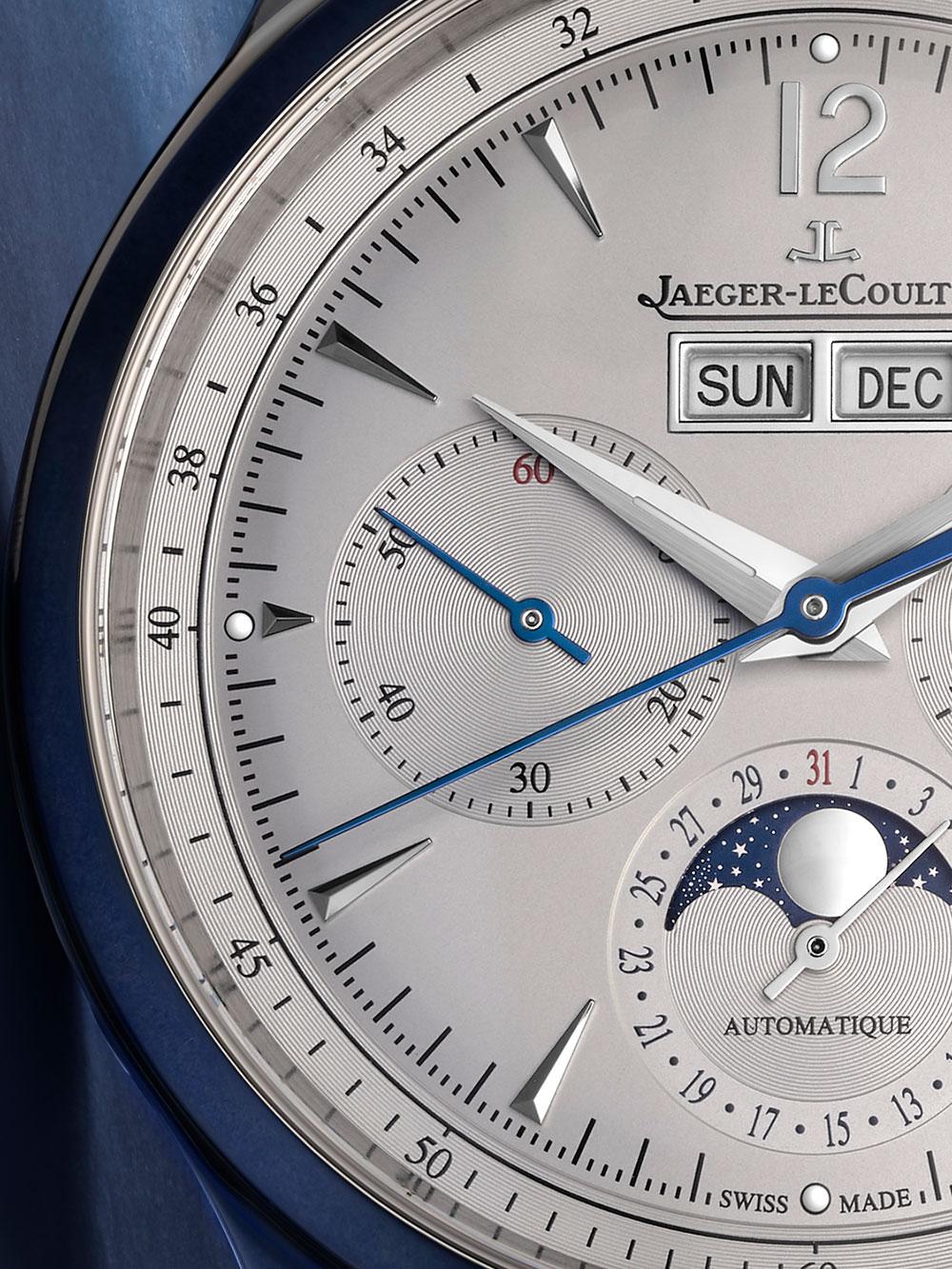 Detalle del Jaeger-LeCoultre Master Control Chronograph Calendar