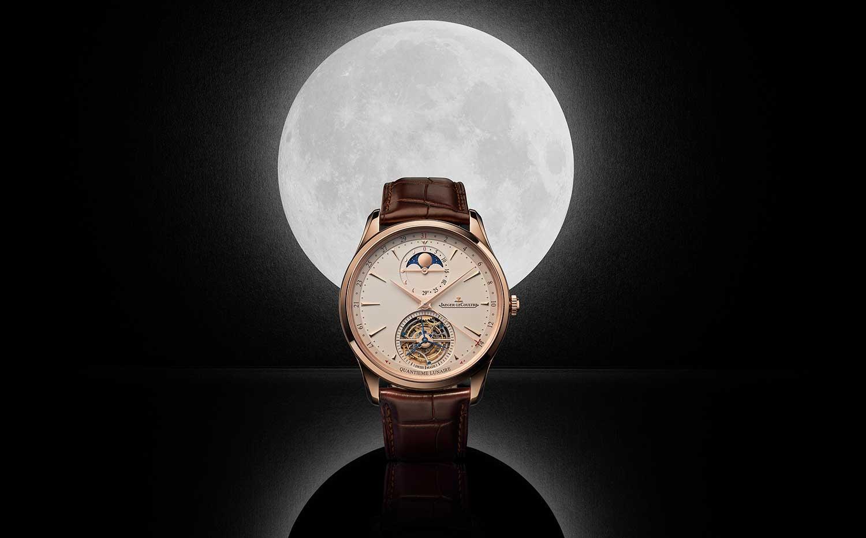 La luna llena del Jaeger LeCoultre Master Ultra Thin Tourbillon Moon