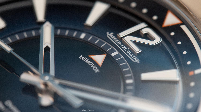 La flecha de alarma del Jaeger-LeCoultre Polaris Mariner Memovox